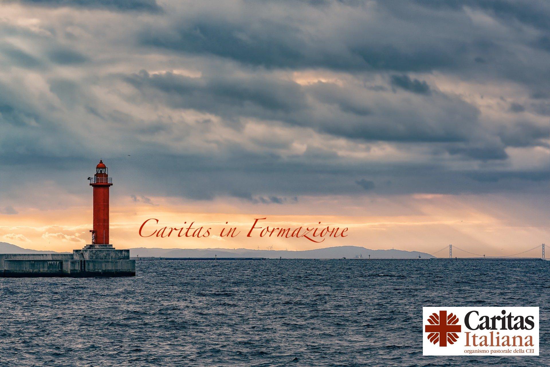 Porto con scritta Caritas in Formazione